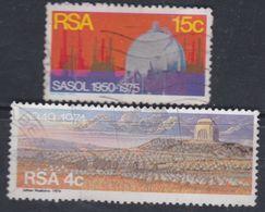 Afrique Du Sud N° 379 / 80  O   Les 2 Valeurs Oblitération Légère Sinon TB - Afrique Du Sud (1961-...)