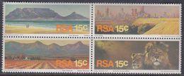 Afrique Du Sud N° 393 / 96 XX  Tourisme : Les 4 Valeurs Se Tenant, Sans Charnière, TB - Afrique Du Sud (1961-...)