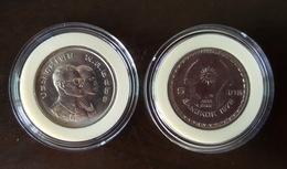 Thailand Coin 5 1978 8th ASEAN Games Bangkok Y131 With Clear Holder - Thailand