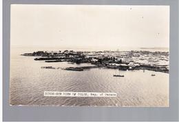 PANAMA  Birds- Eye View Of Colon Ca 1930 OLD  PHOTO POSTCARD - Panama