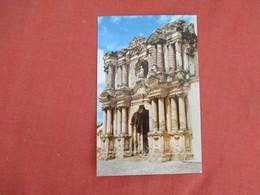 Guatemala   Ruins Of Santa Rosa Church    Ref 3273 - Guatemala