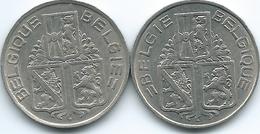 Belgium - Leopold III - 1939 - 1 Franc (KM119 & KM120) - 04. 1 Franc