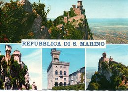 BELLISSIMA CARTOLINA SAN MARINO  E814 - San Marino