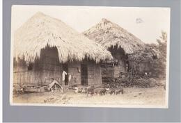 PANAMA  Street Scene San Miguel Pearl Islands Ca 1930 OLD  PHOTO POSTCARD - Panama