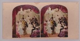 Stereoscopische Kaart.  :The Brides Family - Cartes Stéréoscopiques