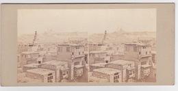 Stereoscopische Kaart.  Egypte.   Panorama Du Caire. - Cartes Stéréoscopiques