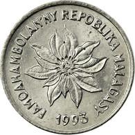 Monnaie, Madagascar, Franc, 1993, Paris, SUP, Stainless Steel, KM:8 - Madagascar
