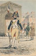 GRENADIERS DE LA GARDE - 1805 - SOUS OFFICIER - TENUE DE VILLE (DESSIN DE PIERRE ALBERT LEROUX) - Régiments