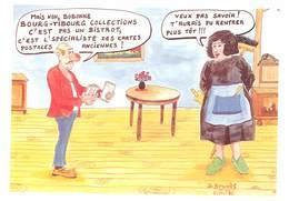 Daniel BRUGES - Bourg Tibourg Collections - Négociant En Cartes Postales - Dédicace - Autographe - Illustrateurs & Photographes