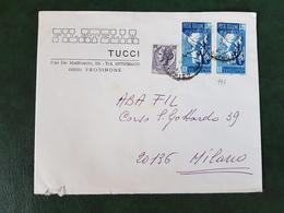 (29523) STORIA POSTALE ITALIA 1976 - 6. 1946-.. Repubblica