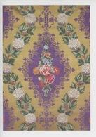 Tassinari Et Chatel, Satin Broché Fond Double (salon Impératrice Versailles Puis Château Meudon) Patron 1737 Textile - Arts