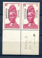 Cameroun - Surcharge 27-8-40 - Yvert 209 - Variété Neuf Xxx - Lot 158 - Cameroun (1915-1959)