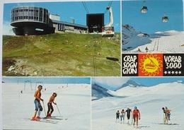 FLIMS LAAX Luftseilbahn Crap Sogn Gion Skilift Sommer Ski - GR Grisons