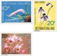 Ref. 92921 * NEW *  - SOUTH VIETNAM . 1974. ORCHIDS. ORQUIDEAS - Vietnam