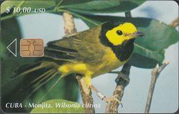 Cuba CUB- 173 Bird - Monjita (Wilsonia Citrina) (30.000x) - Kuba