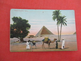 Egypt > Pyramids Cairo  Pin Hole  Ref 3273 - Pyramids