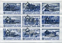 Ref. 273163 * NEW *  - SPAIN Vignettes . 1983. 75 ANIVERSARIO DEL CENTRE EXCURSIONISTA DEL VALLES- SABADELL - Variétés & Curiosités