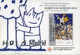 Ref. 273427 * NEW *  - SPAIN Vignettes . 1989. I FERIA PREOLIMPICA - Variétés & Curiosités