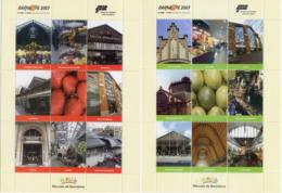 Ref. 252155 * NEW *  - SPAIN Vignettes . 2007. BARNAFIL 2007 - MARKETS OF BARCELONA. BARNAFIL 2007 - MERCADOS DE BARCELO - Variétés & Curiosités