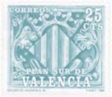 Ref. 131171 * NEW *  - SPAIN. Valencia . 1985. COATS OF ARMS. ESCUDOS - Spain