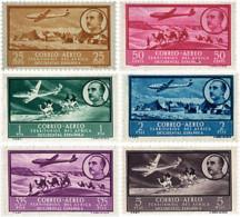 Ref. 598181 * HINGED *  - SPANISH WEST AFRICA . 1951. SCENES AND IMAGE OF GENERAL FRANCO. VISTAS Y EFIGIE DEL GENERAL FR - Fernando Poo