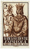 Ref. 165505 * NEW *  - SPANISH WEST AFRICA . 1949. STAMP DAY. DIA DEL SELLO - Fernando Po