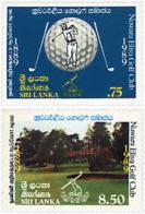 Ref. 91448 * NEW *  - SRI LANKA . 1989. CENTENARY OF NUWARA ALIYA GOLF CLUB. CENTENARIO DEL CLUB DE GOLF NUWARA ELIYA - Sri Lanka (Ceilán) (1948-...)