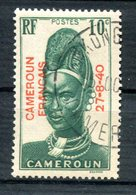 Cameroun - Surcharge 27-8-40 - Yvert 212 Oblitéré - Lot 160 - Camerun (1915-1959)