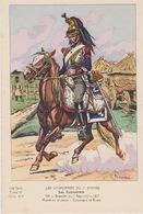 Uniformes Du 1er Empire Brigadier Du 1er Régiment 1812 ( Carte Tirée à 400 Ex ) - Uniformen