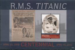 Ref. 318262 * NEW *  - ST. VINCENT AND THE GRENADINES. MYREAU . 2012. THE TITANIC. EL TITANIC - St.Vincent (1979-...)