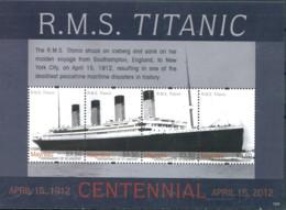 Ref. 318282 * NEW *  - ST. VINCENT AND THE GRENADINES. MYREAU . 2012. THE TITANIC. EL TITANIC - St.Vincent (1979-...)