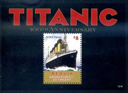 Ref. 301654 * NEW *  - ST.VINCENT. BEQUIA. St. Vincent And The Grenadines . 2012. TITANIC. TITANIC - St.Vincent Y Las Granadinas