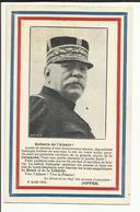 """MILITARIA .  JOFFRE   .Enfants De L'Alsace  """" Discours De JOFFRE, Le Général Chef Des Armées Françaises, Le 8 Août 1914. - Personnages"""