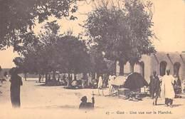 Afrique-MALI GAO Une Vue Du Marché *PRIX FIXE - Mali