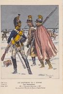 Uniformes Du 1er Empire  Cuirassiers Démontés 1812 ( Retraite De Russie ) ( Carte Tirée à 400 Ex ) - Uniformen