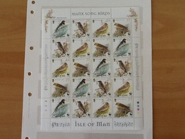 Isle Of Man Mi.860/863 Song Birds. MNH - Man (Ile De)