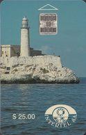 Cuba CUB-03 El Moro Castle $25 - Cuba
