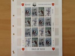 Isle Of Man Mi.408/411 Sea Birds MNH - Man (Ile De)