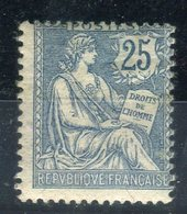 N° Yvert 127, Type Mouchon, Neuf * + Petit Aminci Cote 120€ - Unused Stamps