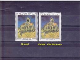 France - Belle Variété De Couleur Sur Yvert N° 2054 - Les 2 Timbres Neufs ** (MNH) -  Voir Scan Et Description - - Varieteiten: 1970-79 Postfris