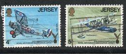 Ref: 1332. Jersey. 1975. Aviones De La  R.A.F . Siskin 3A. 1925. Southampton. - Jersey