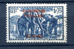 Cameroun - Surcharge 27-8-40 - Yvert 227 Oblitéré - Lot 162 - Cameroun (1915-1959)