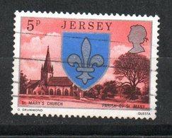 Ref: 1333. Jersey. 1976. Escudo De Armas. Iglesia De Santa María. - Jersey