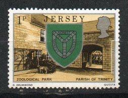 Ref: 1334. Jersey. 1976. Escudo De Armas. Trinidad Y Zoo. - Jersey