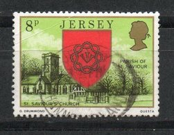 Ref: 1336. Jersey. 1978. Escudo De Armas. Iglesia De San Saviour - Jersey