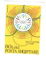 Albania Olympic Committee IOC Mnh ** 1995 - Albania