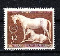 "Germania Reich - 1944. Corsa Ippica "" Ruban Brun "". Horse Racing. MNH, Fresh - Ippica"