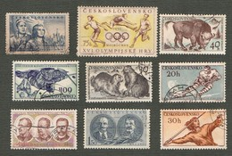 Timbre - Tchécoslovaquie - Ceskoslovensko - Oblitéré - Tchécoslovaquie