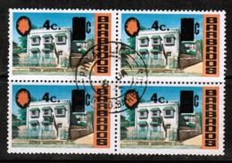 BARBADOS  Scott # 391 VF USED BLOCK Of 4 (Stamp Scan # 485) - Barbados (1966-...)