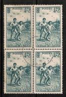 FRANCE Scott # B 194 VF USED BLOCK Of 4 (Stamp Scan # 485) - France